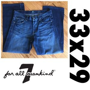 33x29 Mens 7 for All Mankind Jeans